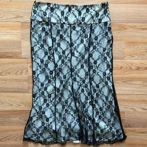 Worthington Lace Skirt